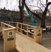 【あおもりニュース@青森】 弘前城の石垣解体・修復を展望デッキから見学!